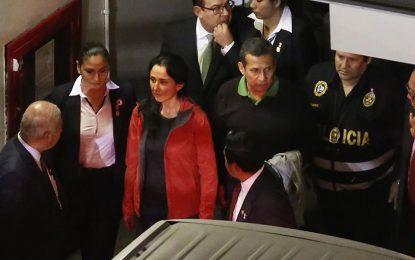EN VIVO: Humala y Heredia serán trasladados a penales tras prisión preventiva