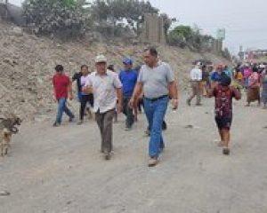Piden canalización de la quebrada El León