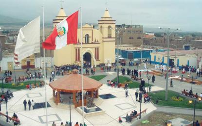 El distrito de Moche celebra su 467 aniversario