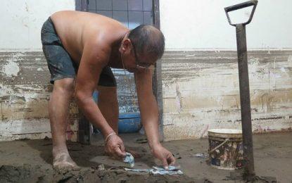 Trujillo: Poblador perdió su casa y ahorros de su vida en huaico