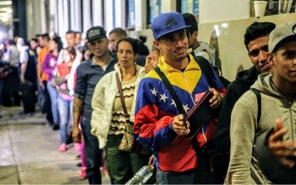 Más de 3,500 migrantes venezolanos tramitaron solicitudes de refugio