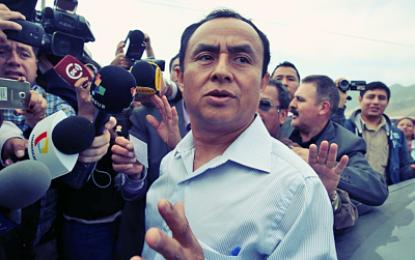 Santos no asumirá gobierno de Cajamarca, dice personero de MAS