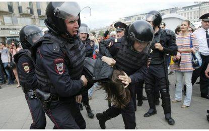 Rusia: 2.000 detenidos en protestas antigubernamentales en Moscú y San Petersburgo