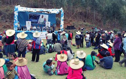 Más de mil títulos de propiedad entregarán este domingo en Sartimbamba y Cochorco
