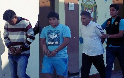 """Capturan a presuntos integrantes de """"La Jauría"""" en Trujillo"""