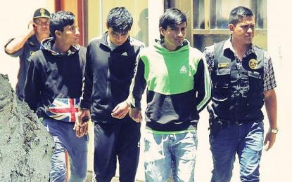 """Trujillo: Policía captura a integrantes de """"Los Monster de Tocache"""""""