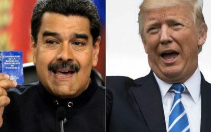 """Trump hablará con Maduro cuando la """"democracia sea restaurada"""" en Venezuela"""