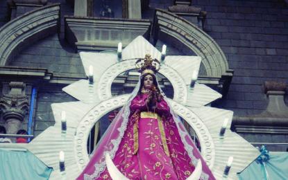 Rinden Homenaje a la Virgen de la Puerta en Otuzco