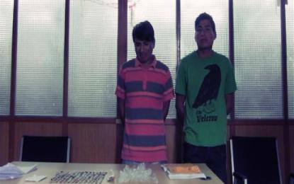 PNP captura a dos vendedores de Droga en Casa Grande