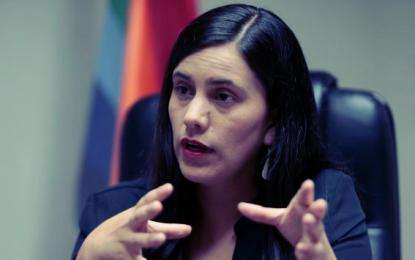 Verónika Mendoza denuncia guerra sucia en su contra por vinculaciones con agendas de Nadine