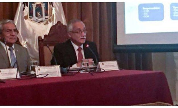 Vicecontralor expone Plan de Acción de Control para Reconstrucción con Cambios
